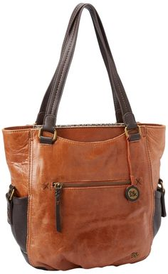 The SAK Kendra Tote.  Love the brown and black (maybe it is darker brown) - would go with everything!