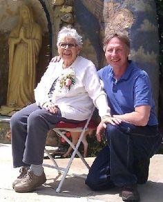 Liza Lopez celebrates her 99th birthday with David, Brenda Avadian's husband. who Lisa claimed to be her new boyfriend