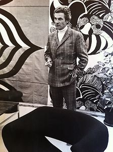 Pierre Paulin and Ribbon chair