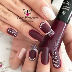Pin by michelle lesbirel-jones on nails in 2019 ногти, дизай Elegant Nails, Stylish Nails, Trendy Nails, Stiletto Nails, Gel Nails, Nail Polish, Shellac Designs, Purple Acrylic Nails, Luxury Nails