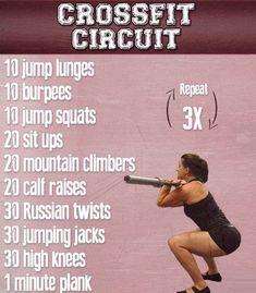crossfit circuit #hardcardioworkout