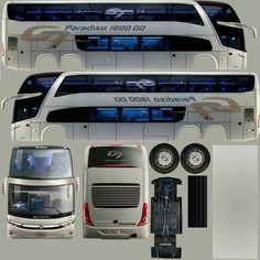 Paper Model Car, Paper Car, Paper Models, Paper Toys, Onibus Marcopolo, Star Bus, Bus Games, Ashok Leyland, Phone Wallpaper Design