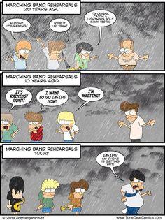 Marching Band Problems Marching Band Jokes, Marching Band Problems, Music Jokes, Music Humor, Band Nerd, Band Camp, Love Band, Jazz Band, Band Memes