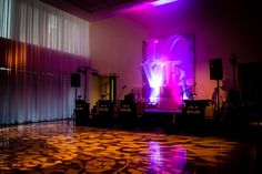 Wedding reception in the Devonshire Ballroom at The Langham, Chicago. Photo and design by Kehoe Designs.
