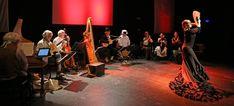 The Danish ensemble Via Artis Konsort performing the opera comics Escarramán at 'Den Fynske Opera', Odense Denmark