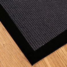 Handcrafted Torino 6' x 9' Rug - Black - Overstock Shopping - Great Deals on 5x8 - 6x9 Rugs