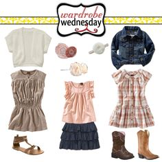 great outfits for spring sessions! This would be perfect with cherry blossoms or a nice freshly green field of grass.