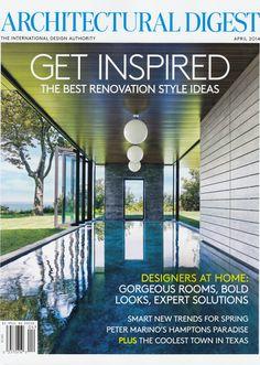 Architectural Digest April Cover