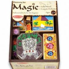 The Discovery Magic Set from Melissa and Doug Toys is a gorgeous beginner's set with four magic tricks to learn and perform. Baby Activity Toys, Infant Activities, Learn Magic Tricks, Magic Sets, Sword In The Stone, Melissa & Doug, Christmas Toys, Gifts For Boys, Educational Toys