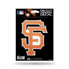 San Francisco Giants Decal 5.5x5 Die Cut Bling