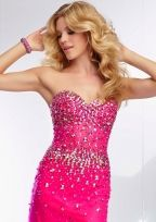 Pink dress from Sequins Bridal