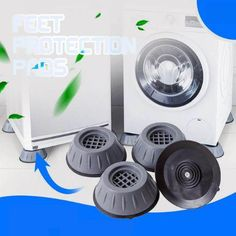 Geek Gadgets, Home Gadgets, Mechanical Engineering Design, Must Have Gadgets, Cleaning Dust, Sound Absorbing, Foot Pads, Home Hacks, Washer And Dryer