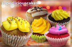 Visit us at www.MetroDeal.com and Indulge in 6 or 12 Pieces of 3 Ounce Superlicious Cupcakes by Carloged Cakehouse starting at P165 instead of P330!