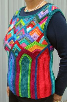 Melody Johnson's knitting is as fun as her quilts!