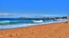 Narrabeen Beach (Nth of Sydney) NSW Australia Clean Beach, Beautiful Landscapes, Beaches, Sydney, Photos, Pictures, Waves, Australia, Book