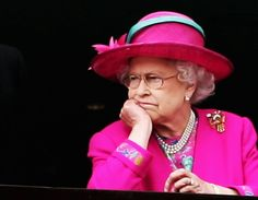 Queen Elizabeth II is a shining example of British decorum, but she can't always hold that megawatt smile on her face. In fact, one of the queen's Hm The Queen, Royal Queen, Her Majesty The Queen, Save The Queen, Prinz Philip, Prinz William, Lady Diana, Queen Hat, Isabel Ii
