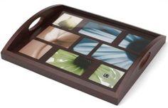 Amazon.com - Umbra Host 9-Opening Wood Photo Tray, Espresso