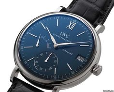 萬國 (IWC) [NEW+SPECIAL] Portofino Blue Dial IW510106 (Retail:HK$78,000) ~ UNBEATABLE PRICE: HK$52,500.