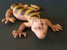 Imperial Lizard Toy Figure Large Plastic Diorama Model 9 Inches  #Imperial