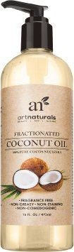 Art Naturals Fractionated Coconut Oil 16 oz 100% Natural & Pure - Best Carrier / Massage Oil, 2016 Amazon Top Rated Sexual Wellness  #Health-Personal-Care