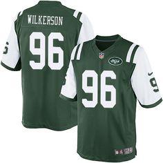 NFL New York Jets Muhammad Wilkerson Men Limited Green #96 Jerseys