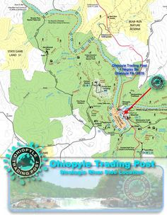 Lower Yough River Map Water Rafting Tour Ohiopyle