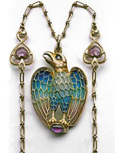 Jugendstil Eagle Pendant - Tadema Gallery