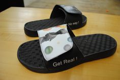 ...Get Real! No Way! Custom slides created using our website. What would you design? #custom #holiday #gift #wishlist
