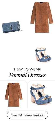 """""""Autumn Formal"""" by williams1212 on Polyvore featuring Vanessa Seward, Jimmy Choo and Yves Saint Laurent"""