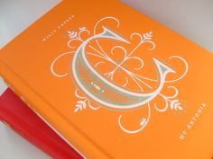 Penguin's Drop Caps line of republished classic literature - the cover of each brightly hued Drop Caps volume sports a large, fancy letter designed by Jessica Hische, which represents the author's last name.