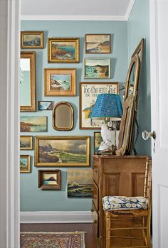 Creative Bedroom Decorating Ideas, From Literary Artwork to Shingled Walls White Wall Bedroom, Accent Wall Bedroom, Wood Bedroom, Bedroom Decor, Decorating Bedrooms, Decorating Ideas, Bedroom Signs, Bedroom Ideas, Painted Paneling Walls