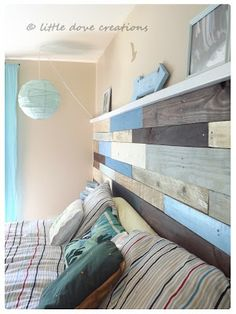 Little Dove Creations: diy pallet wall
