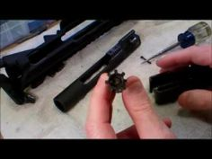 Checking the headspace on a Spikes Tactical AR15 upper receiver with Daniel Defense CHF barrel - http://fotar15.com/checking-the-headspace-on-a-spikes-tactical-ar15-upper-receiver-with-daniel-defense-chf-barrel/
