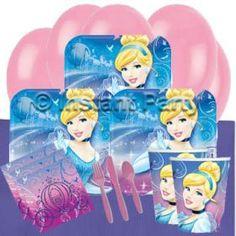 Girls Parties :: Cinderella :: Cinderella Classic Party Pack