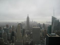 Rockefeller Center, New York. View from the top.