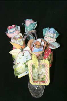 Rose Gift Card Holder 6 by 1MakingFaces on Etsy, $36.00