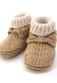 Knitted. cute for boys.  Baby shower gift possibility. Sport or sock weight