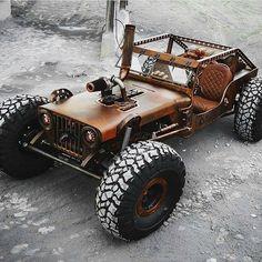 Hauk designed Rat Jeep