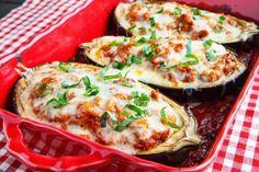 Eggplant Boats |  Fatty Liver Lunch Ideas | Fatty Liver Diary