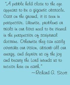 Elder Richard G Scott