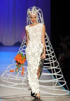 Ugly Wedding Dresses   ... are looking for the right gown for your Fifth Element -themed wedding
