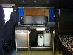 Could come in useful if I get another camper - VW T4 Camper Kitchen by Vanguard Conversions, via Flickr