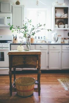 These are truly some inspiring kitchen decoration ideas.  I love the trendy paint schemes along with all of the cute kitchen decorative accents.  I like to combine elements of traditional home decor along with accents from modern home decor to make a beautiful kitchen.