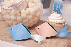 Great fish party favor boxes
