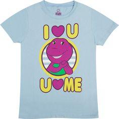 I Love You Barney Shirt