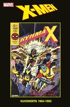 Ryhmä-X – Vuosikerta 1984–1985