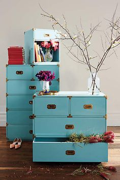 Lacquered Wellington Three-Drawer Dresser - anthropologie.com