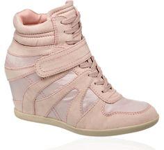 Sneaker met sleehak - Schoenen - Dames - vanHaren Schoenen