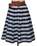 Cabana Stripe Skirt
