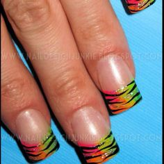 I so want to get my nails done like this!!!